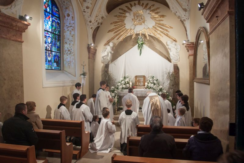 Bazilika Velehrad 2017 – Zelený ètvrtek